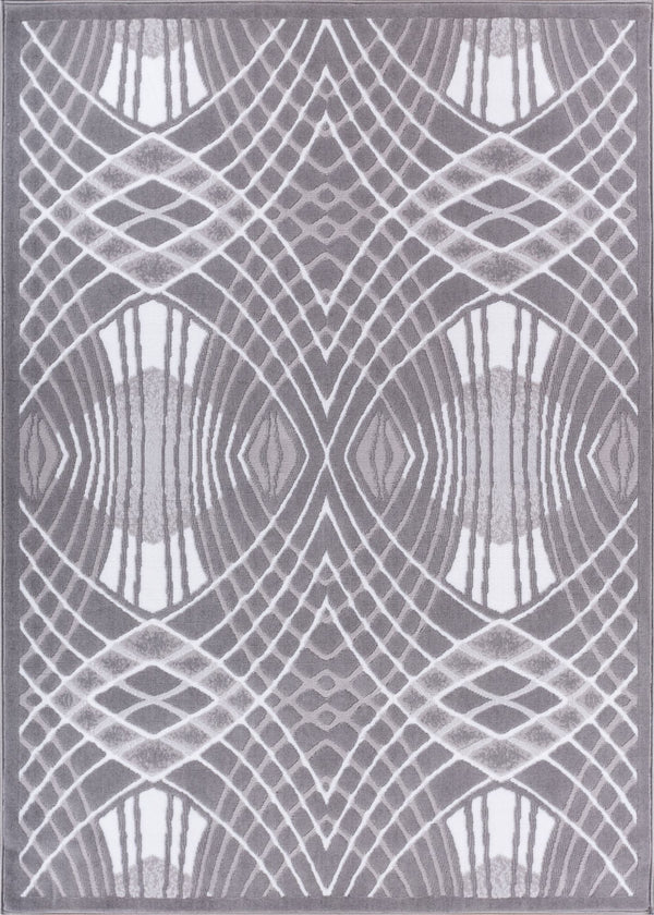 Cool Runnings Grey Modern Rug