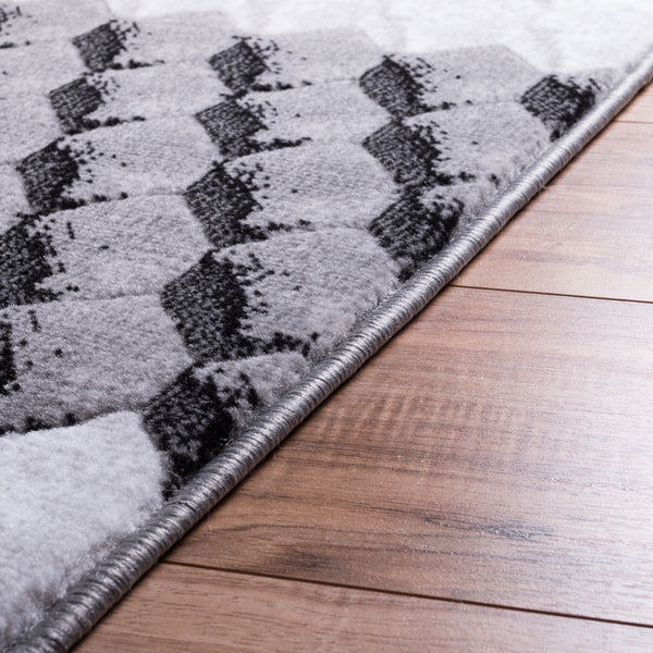 Goodness Black Modern Rug