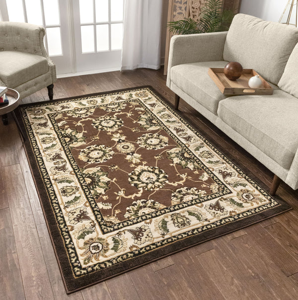 Alana Brown Traditional Rug