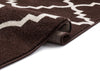Lulu's Lattice Brown Modern Rug