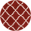 Lulu's Lattice Teracotta Modern Rug