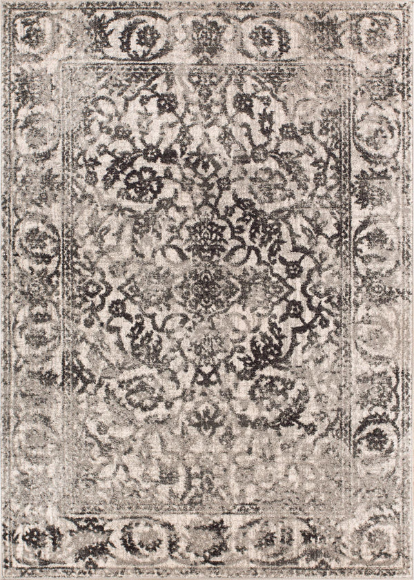 Sheffield Grey Traditional Rug