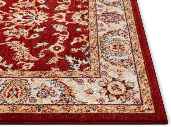 Carleton Red Traditional Rug