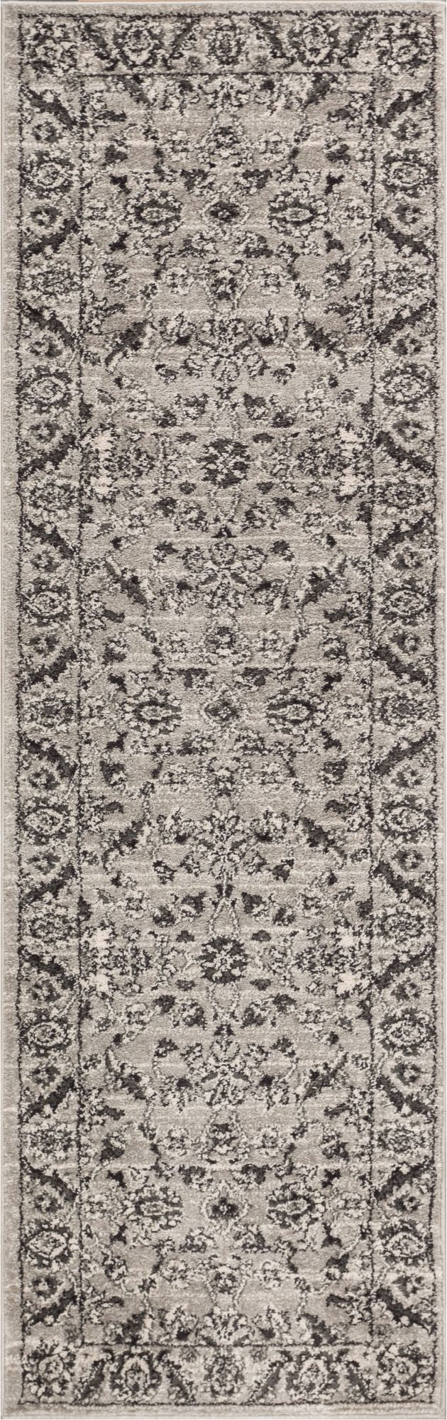 Carleton Grey Traditional Rug
