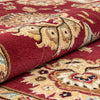 Abbasi Red Traditional Rug