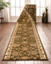 Abbasi Custom Size Runner Traditional Green Choose Your Width x Choose Your Length Hallway Runner Rug
