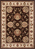 Abbasi Brown Traditional Rug