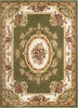 Le Petit Palais Green Traditional Rug