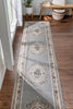 Le Petit Palais Grey Traditional Rug