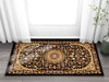 Aviva Black Traditional Rug