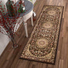 Aviva Brown Traditional Rug