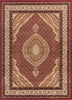Saffron Red Traditional Rug