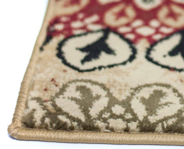 Delilahs Place Ivory Floral Suzani Rug