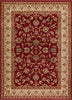 Sarouk Red Traditional Rug