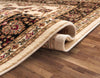 Sarouk Ivory Traditional Rug