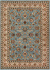 Sarouk Light Blue Traditional Rug