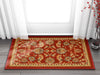 Tabriz Red Traditional Non Slip Washable Rug