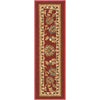 "Tabriz Traditional Red Non Slip 9"" x 31"" Stair Tread (Set of 7)"