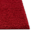 Plain Red Solid Rug