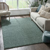 Plain Light Blue Modern Solid Rug