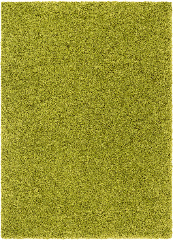 Plain Green Solid Rug