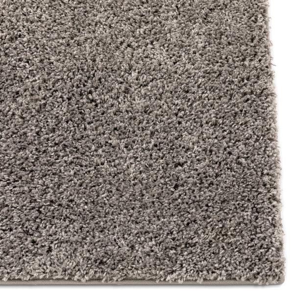 Plain Grey Solid Rug
