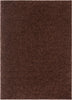 Plain Coffee Bean Contemporary Rug