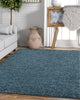 Piper Light blue Modern Rug