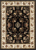 Bijar Classic Black Traditional Rug