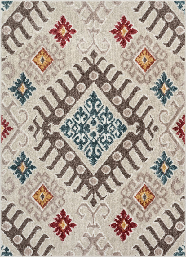 "Soliloquy Natural Tribal Rug 3'11"" x 5'3'"