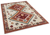 Coby Crimson Tribal Rug