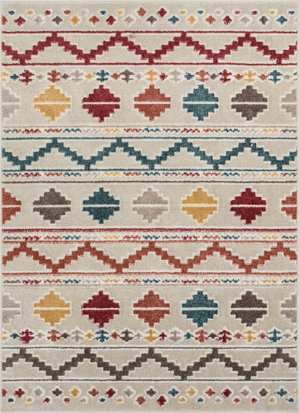 Alba Natural Tribal Rug