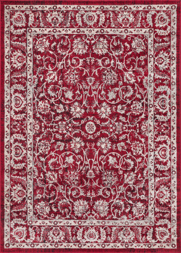 Sonoma Red Traditional Vintage Rug