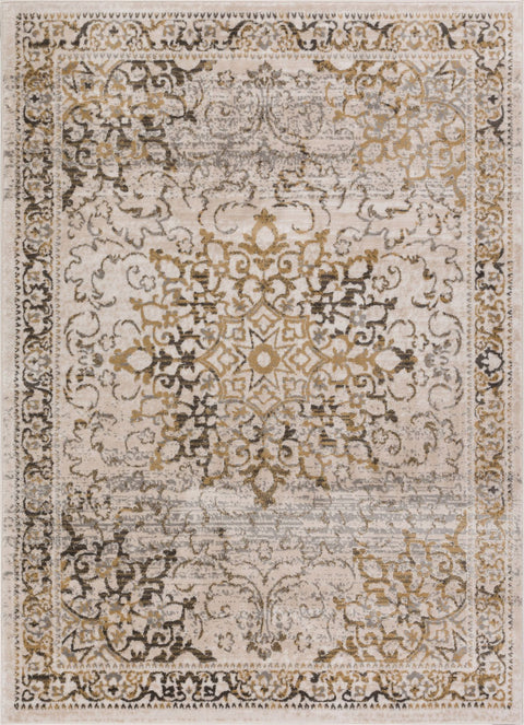 Sultana Gold Traditional Rug