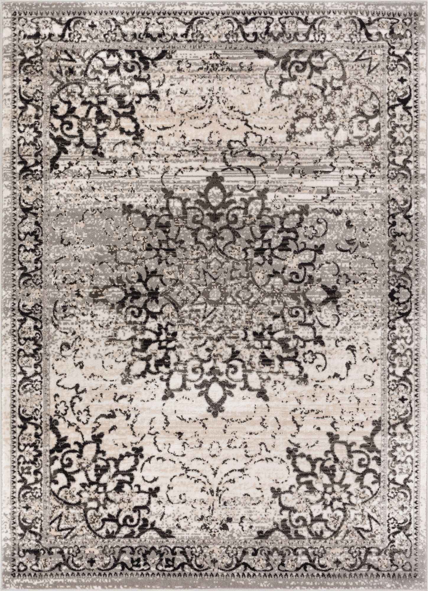 Well Woven's Sultana Grey rug.