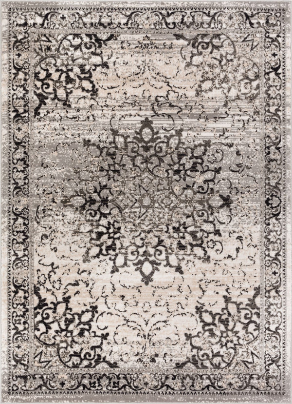 Sultana Grey Traditional Rug