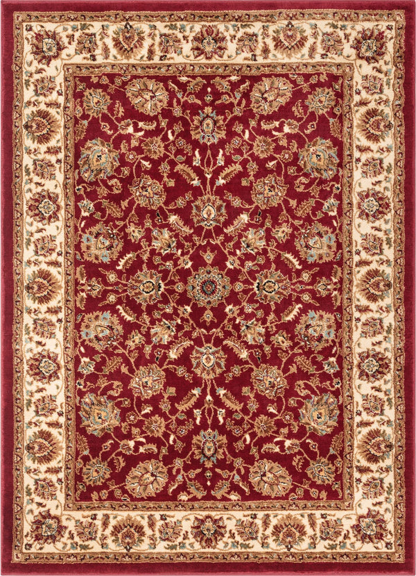 Lea Red Traditional Rug