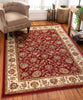 Lea Traditional Oriental Red Rug