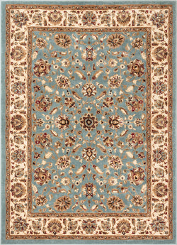 Lea Blue Traditional Rug