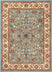 Lea Traditional Oriental Blue Rug