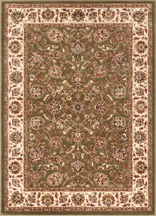 Lea Green Traditional Rug