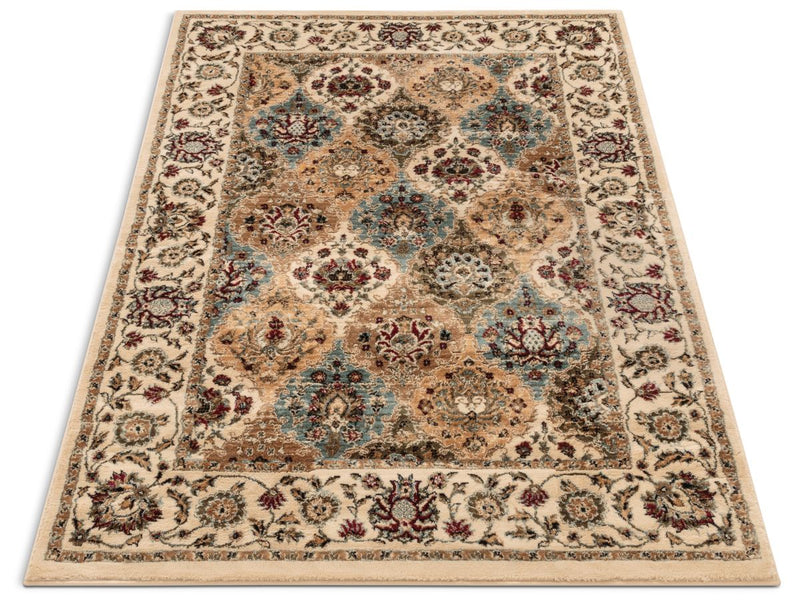 Mia Ivory Traditional Rug