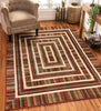 Mero Multi Modern Rug By Chill Rugs