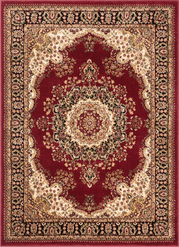 Mahal Red Traditional Rug