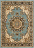 Mahal Blue Traditional Oriental Persian Rug