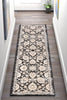 Madison Vintage Floral Grey High-Low Rug