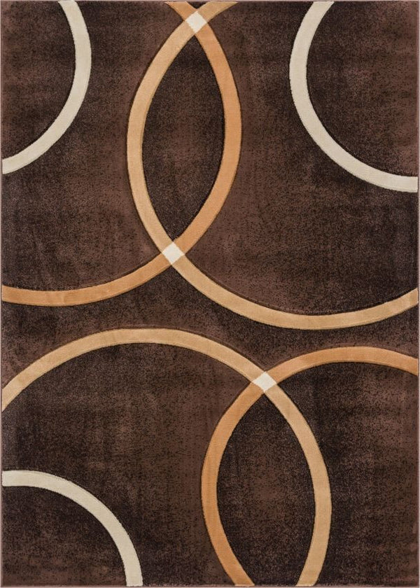 Chester Brown Modern Geometric Rug