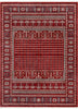 Aldo Bokhara Tribal Geometric Pattern Crimson Rug