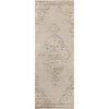 Vivian Beige Vintage Global Medallion Rug