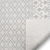 Clove Moroccan Tribal Light Grey Rug